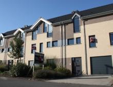4 maisons jointives rue des Mésanges-Hirondelles